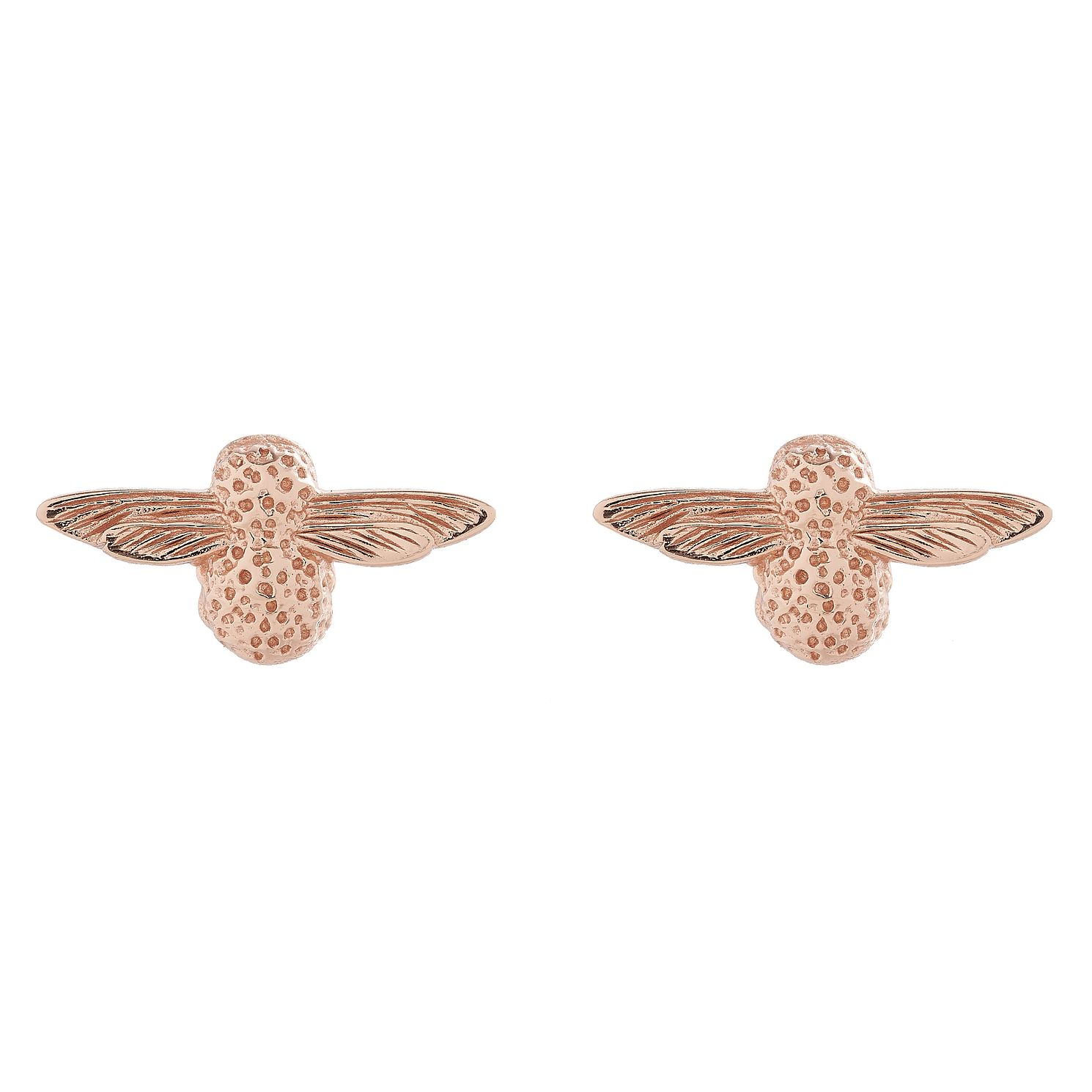 Olivia Burton 3D Bee Ladies' Rose Gold Plated Stud Earrings - Product number 9457143