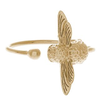 Olivia Burton 3D Bee Ladies' Yellow Gold Plated Ring - Product number 9457410