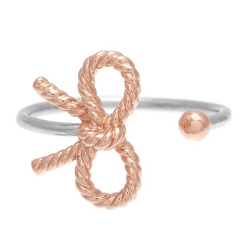 Olivia Burton Vintage Bow Ladies' Rose Gold Plated Ring - Product number 9457682
