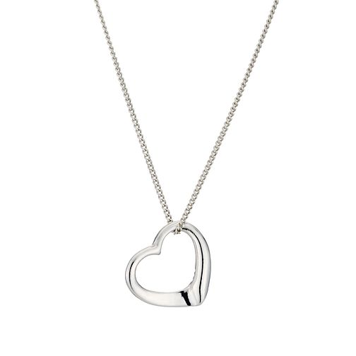 Children's Sterling Silver Heart Pendant - Product number 9500189