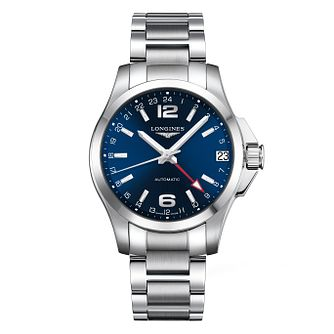 Longines Conquest Men's Blue Dial Bracelet Watch - Product number 9528644