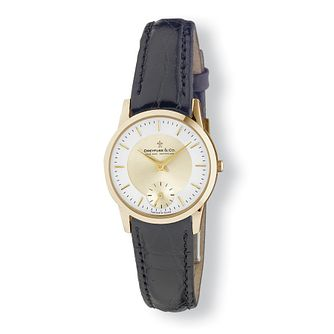 Dreyfuss & Co ladies' leather strap watch - Product number 9531165