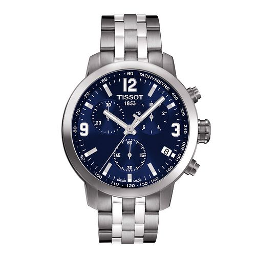 c9bb08912 Tissot PRC200 men's stainless steel bracelet watch - Product number 9534857