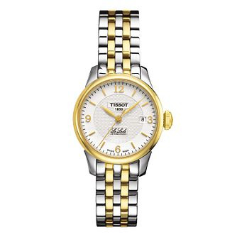 Tissot Le Locle Ladies' Two Colour Bracelet Watch - Product number 9535063