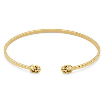 Gucci Running G 18ct Yellow Gold Bangle - Product number 9540482
