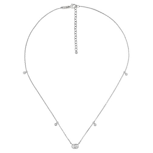 Gucci Running 18ct White Gold Pendant Necklace - Product number 9540490