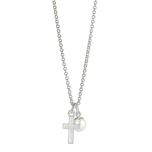 Molly Brown Silver Cross Necklace - Product number 9540814