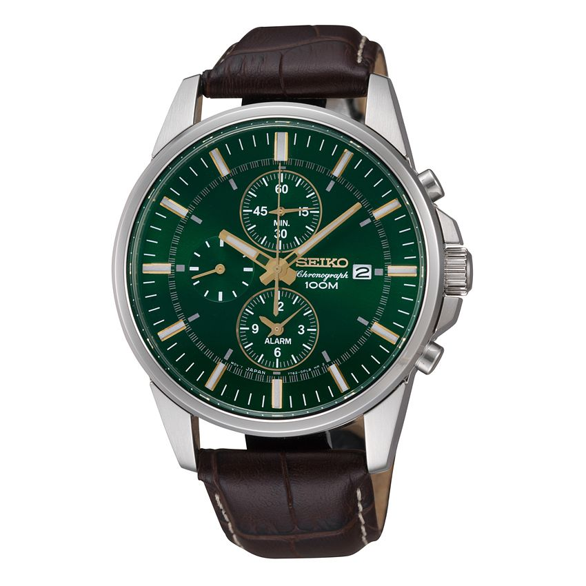 Seiko Conceptual Men's Stainless Steel Round Strap Watch - Product number 9541454