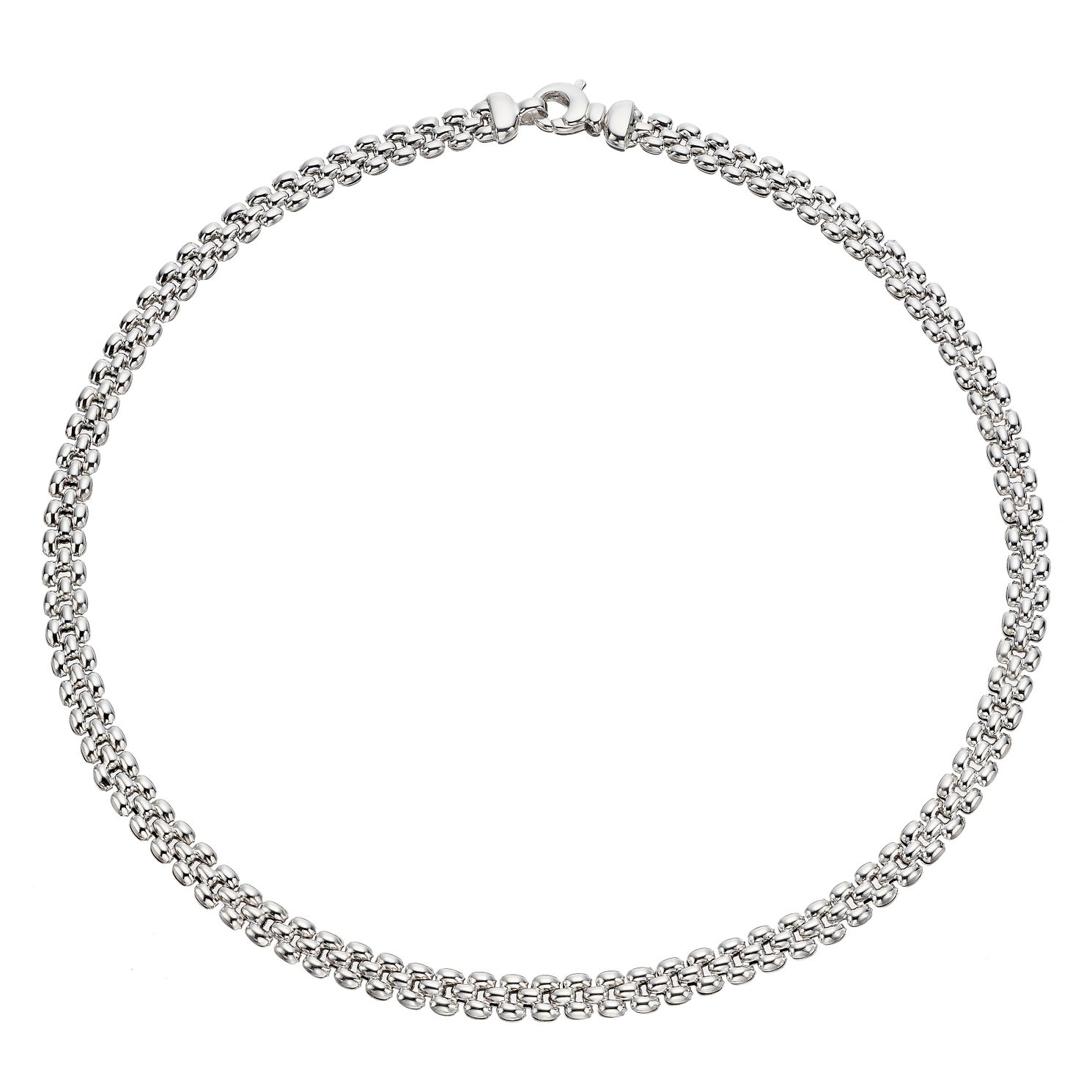 Silver Panther Link Necklace - Product number 9541950