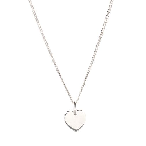 Molly Brown Silver Little Wish Heart Necklace - Product number 9541993