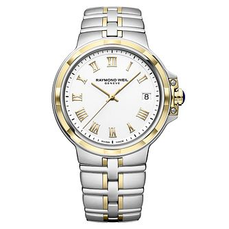 Raymond Weil Parsifal Men's Two-Tone Bracelet Watch - Product number 9543589