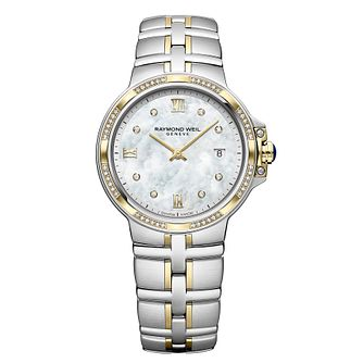 Raymond Weil Parsifal Ladies' Two-Tone Bracelet Watch - Product number 9543597