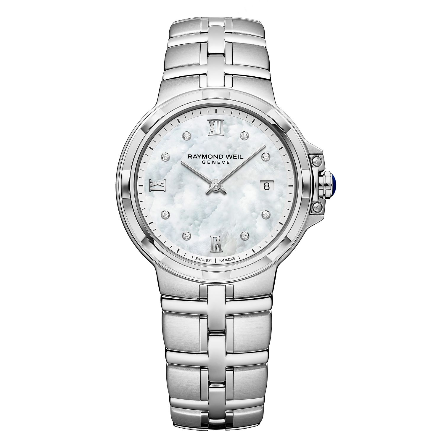 Raymond Weil Parsifal Ladies' Stainless Steel Bracelet Watch - Product number 9543600