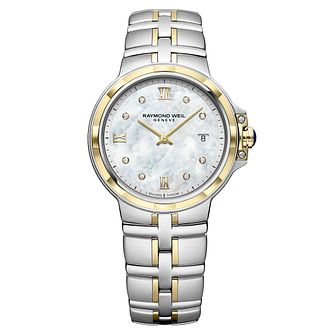 Raymond Weil Parsifal Ladies' Two-Tone Bracelet Watch - Product number 9543619