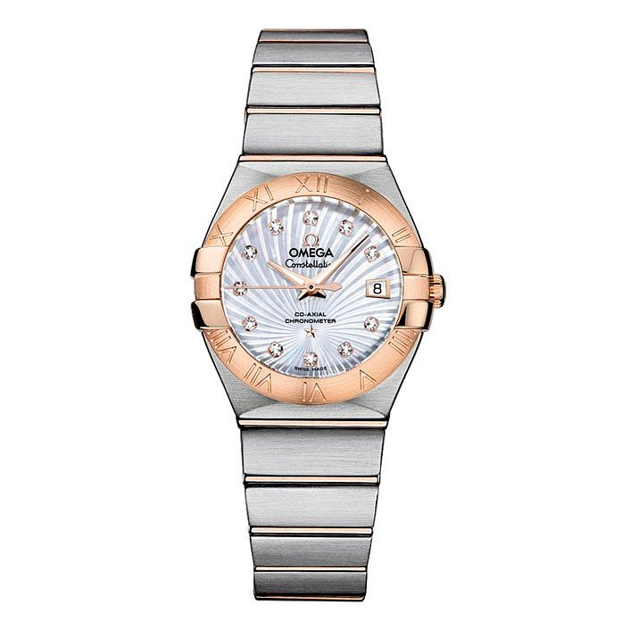 Omega Constellation Ladies' Two Colour Bracelet Watch - Product number 9552081