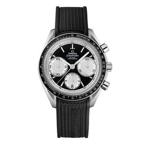 Omega Speedmaster Racing men's black rubber strap watch - Product number 9552235