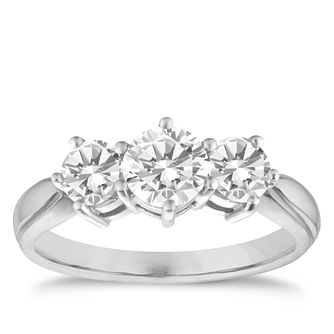 18ct White Gold 1.50ct Diamond Ring - Product number 9552383