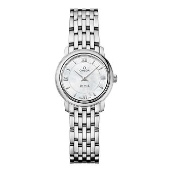 Omega De Ville Ladies Stainless Steel Bracelet Watch - Product number 9552537