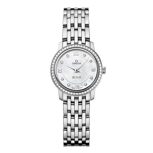 Omega De Ville Prestige ladies' Diamond bracelet watch - Product number 9552553