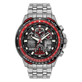 ac23a1e41 Citizen Eco-Drive Men's Red Arrow Skyhawk Watch - Product number 9561099