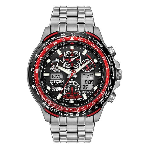 Citizen Eco-Drive Men's Red Arrow Skyhawk Watch - Product number 9561099