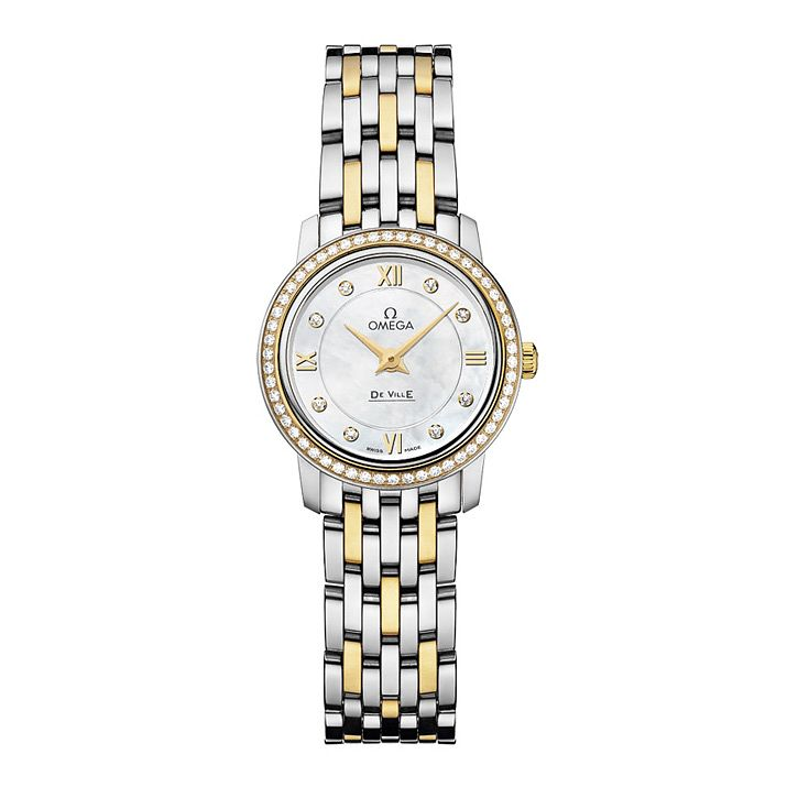 Omega De Ville Prestige Ladies' Diamond Bracelet Watch - Product number 9561331