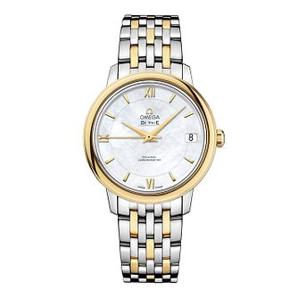 Omega De Ville Ladies Two Colour Bracelet Watch - Product number 9561366