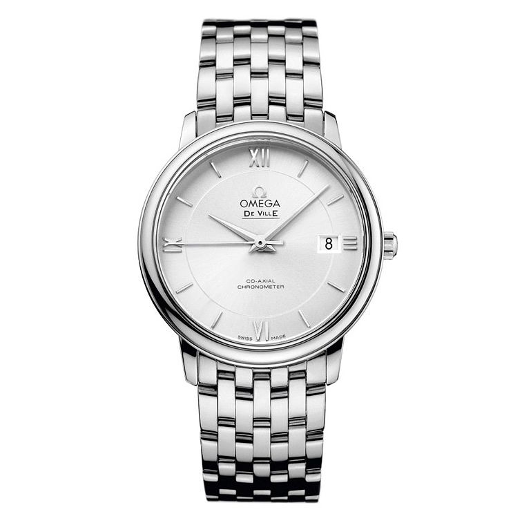 Omega De Ville Prestige Co-Axial Men's Bracelet Watch - Product number 9561420