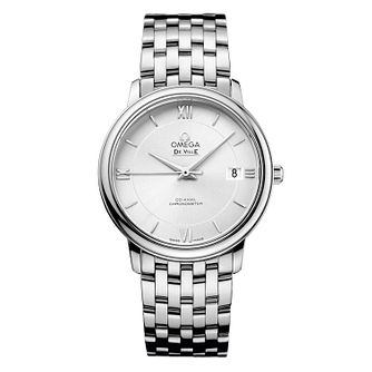 Omega De Ville Men's Stainless Steel Bracelet Watch - Product number 9561420