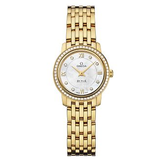 Omega De Ville Prestige ladies' Diamond bracelet watch - Product number 9561447