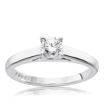 The Forever Diamond 9ct White Gold 0.33ct Ring - Product number 9594027