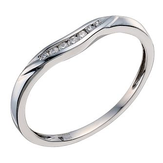 Palladium 950 Diamond Shaped Band - Product number 9597050