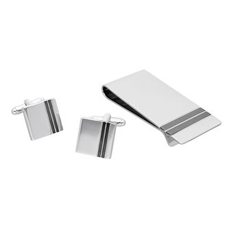 Cufflinks and Money Clip Gift Set - Product number 9599061