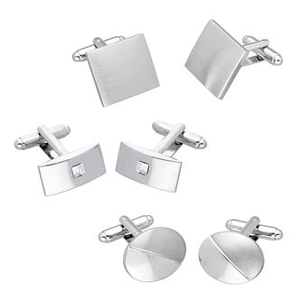 3 pack cufflink gift set - Product number 9599215