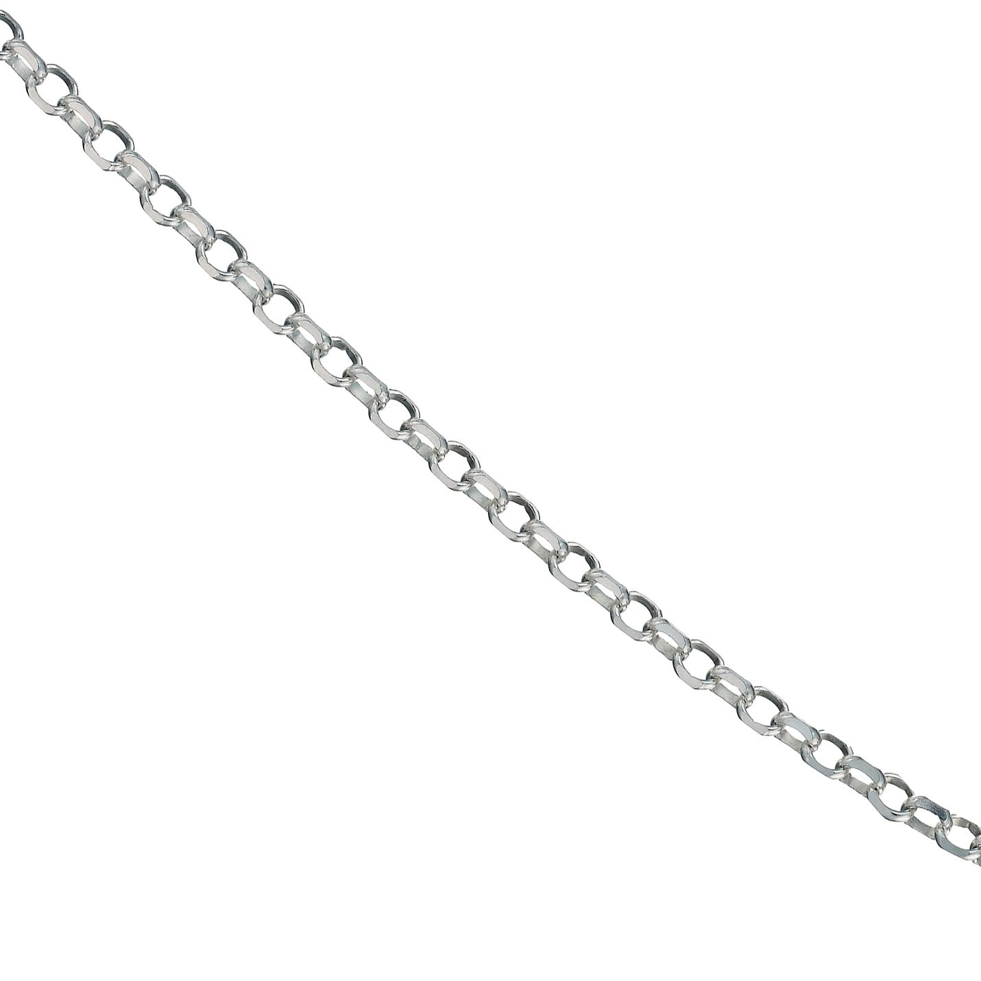 Sterling Silver 18 Inch Belcher Chain - Product number 9599576