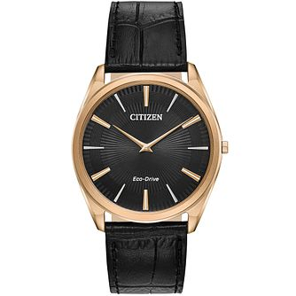 Citizen Men's Eco-Drive Stiletto Strap Watch - Product number 9600574