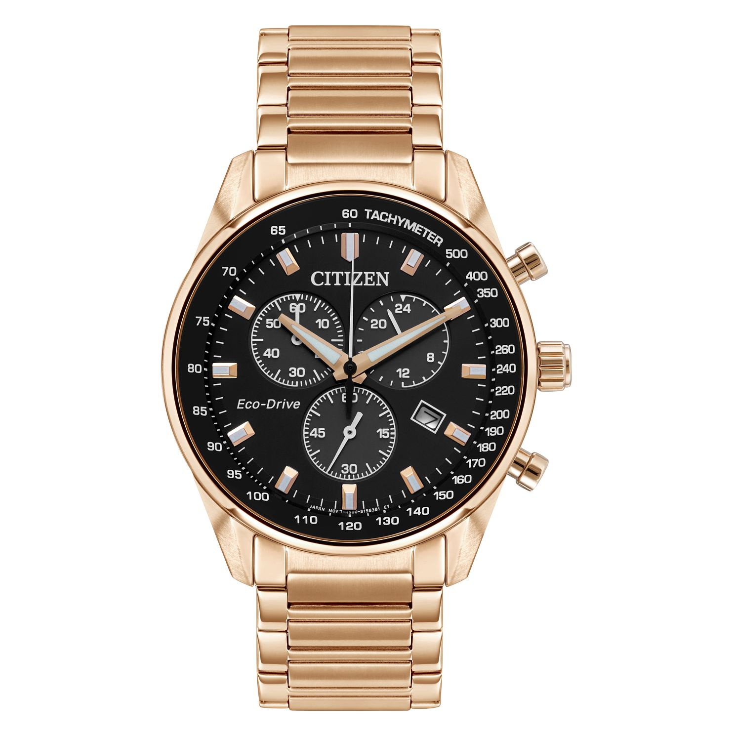 Citizen Men's Eco-Drive Gold Tone Bracelet Watch - Product number 9600604