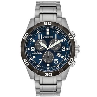 Citizen Men's Eco-Drive Perpetual Calendar Bracelet Watch - Product number 9602046