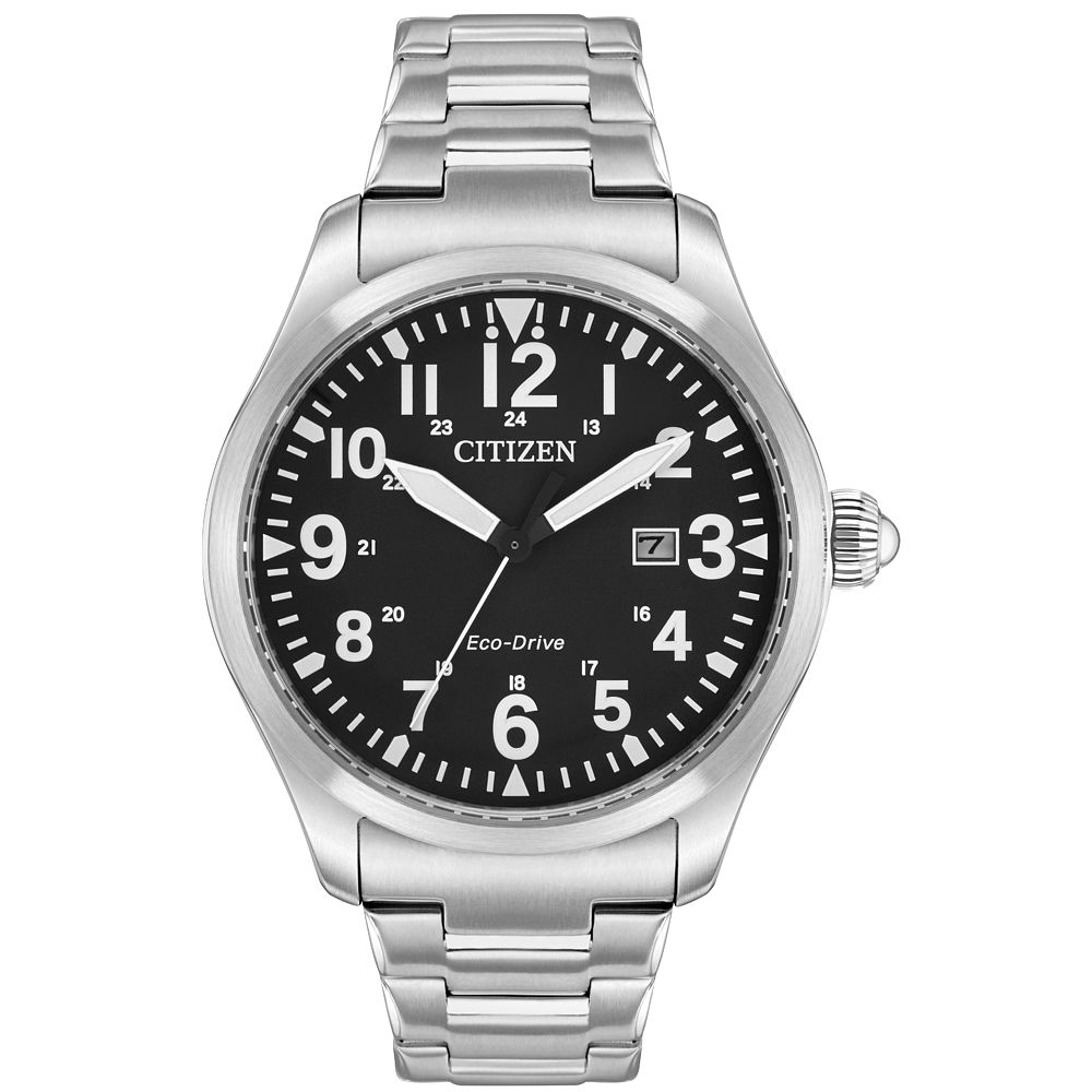 Citizen Eco-Drive Men's Stainless Steel Bracelet Watch - Product number 9602267