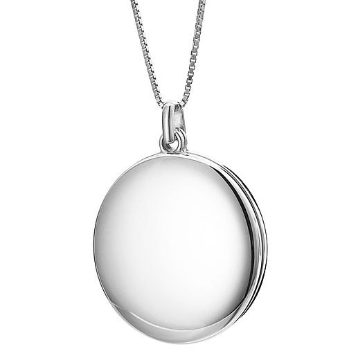 Inara Ceramic Rhodium Plated Sliding Locket - Product number 9604073