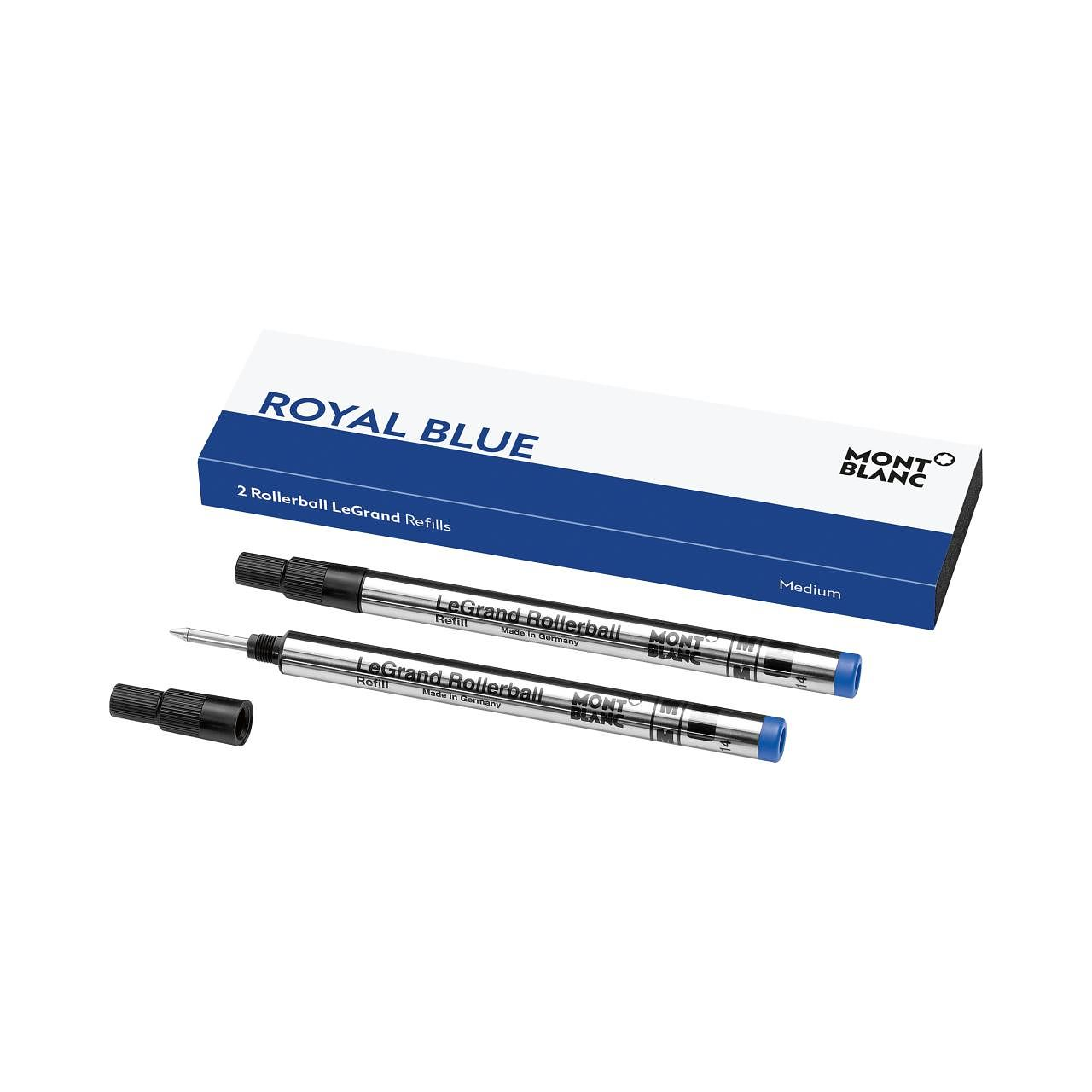 Montblanc Pacific Blue Legrand Rollerball Refill X 2 - Product number 9605878
