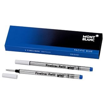 Montblanc Pacific Blue Fineliner Refill x 3 - Product number 9605894
