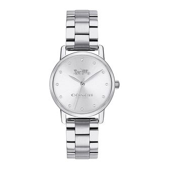Coach Grand Crystal Ladies' Stainless Steel Bracelet Watch - Product number 9622934