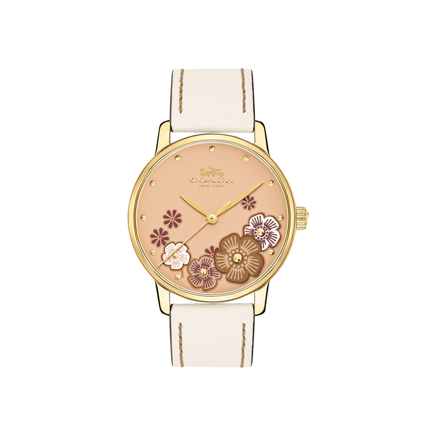 Coach Grand Ladies' Pink Strap Watch - Product number 9622950
