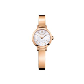 BOSS Slim Ultra Ladies' Rose Gold Tone Bracelet Watch - Product number 9626433