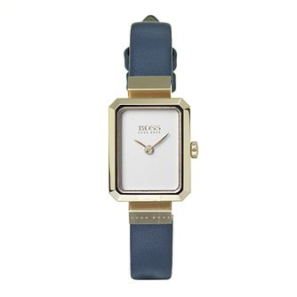 Hugo Boss Ladies' Whisper Ivory Strap Watch - Product number 9626476
