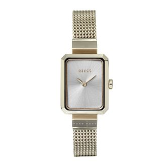 BOSS Ladies' Whisper Gold Tone Bracelet Watch - Product number 9626506