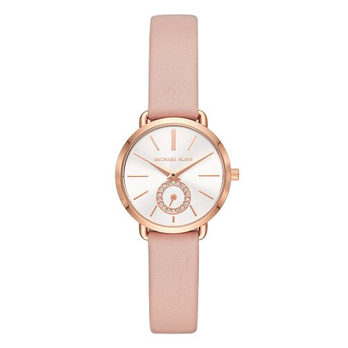 Michael Kors Rose Gold Tone Mini Portia Watch - Product number 9626867