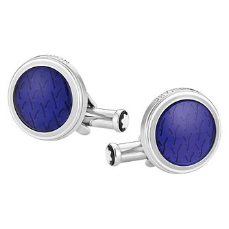 Mont Blanc Petite Prince Blue Cufflinks - Product number 9645810