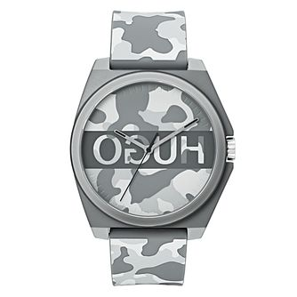 HUGO Unisex Camouflage Print Watch - Product number 9647422